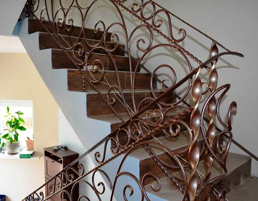 Лестницы кованые картинки