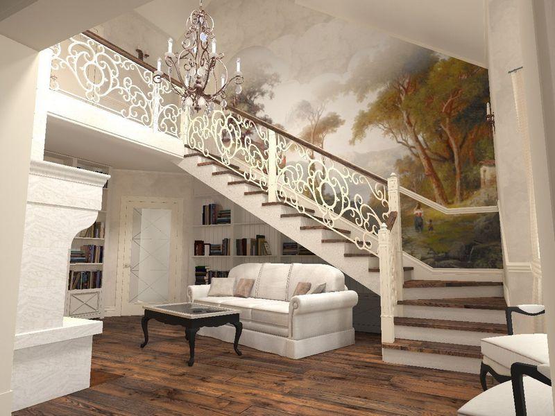 киа кованые лестницы в стиле прованс фото связана эта